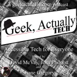 Geek Actually Tech Cover Art