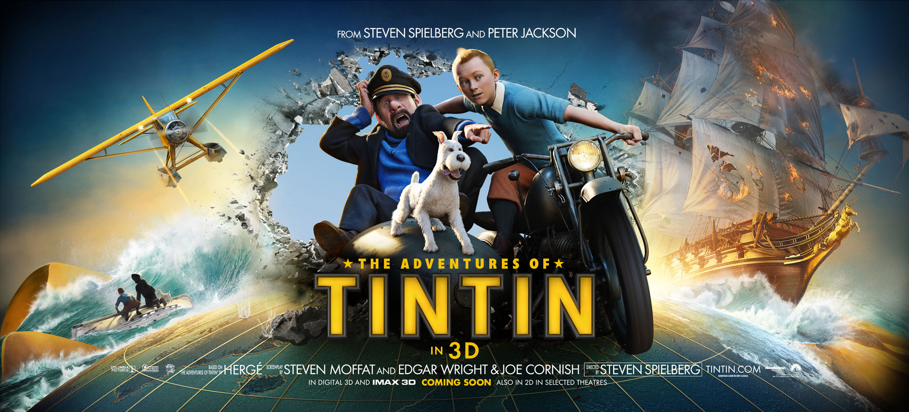 New Standee Art for The Adventures of Tintin