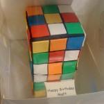 Snakes-Rubik-Cake