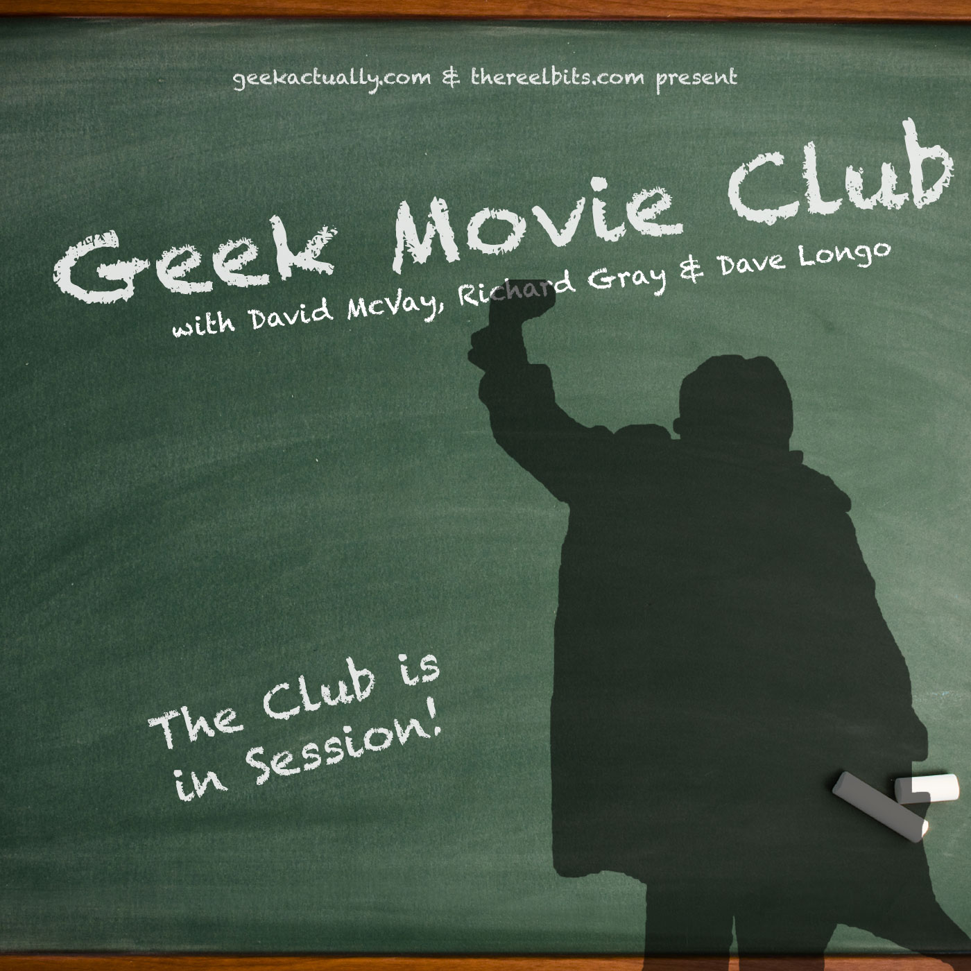 The Geek Movie Club - A New Movie Podcast by GeekActually.com